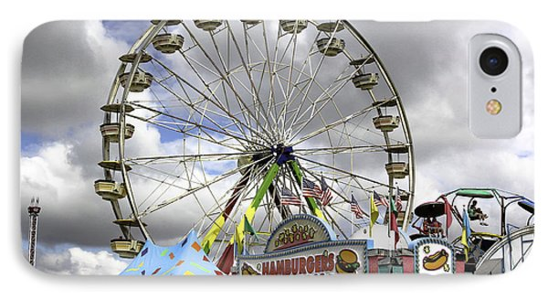 IPhone Case featuring the photograph Ferris Wheel  by Bob Noble Photography