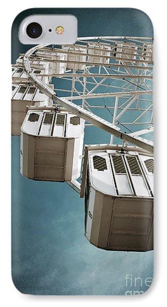 Ferris Wheel IPhone Case by Carlos Caetano