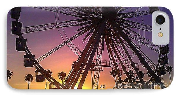 Ferris Wheel IPhone Case by Chris Tarpening