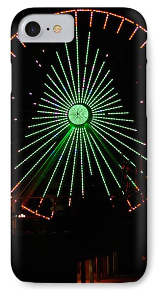 Ferris Wheel Christmas Tree IPhone Case by Greg Graham