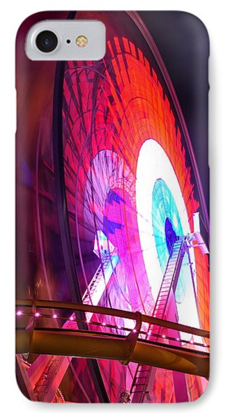Ferris Wheel IPhone Case by Gandz Photography