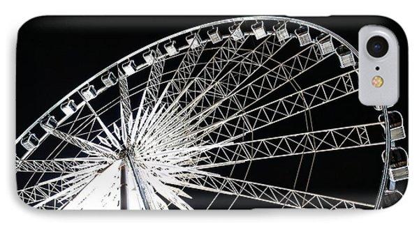 Ferris Wheel Phone Case by Nawarat Namphon