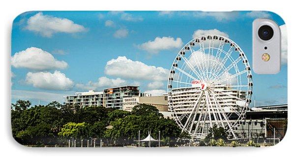 Ferris Wheel On The Brisbane River IPhone Case