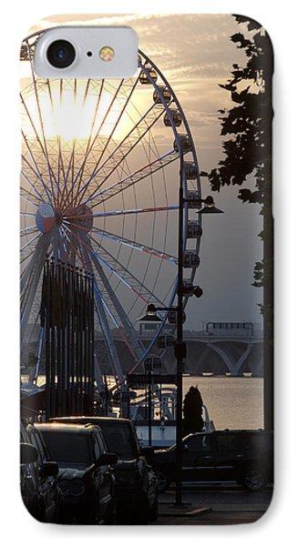 Ferris Wheel Sunset 2 IPhone Case