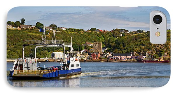 Ferry Crossing Waterford Harbour IPhone Case