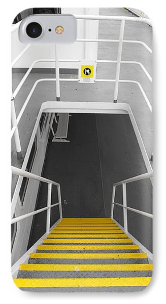 IPhone Case featuring the photograph Ferry Stairwell by Marilyn Wilson