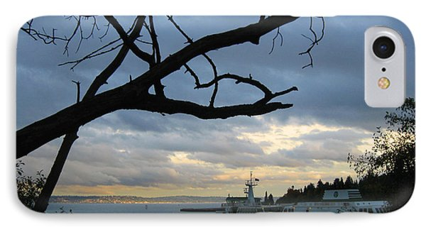 Ferryboat To Seattle  IPhone Case by Kym Backland