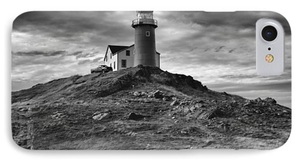 Ferryland Lighthouse IPhone Case by Eunice Gibb