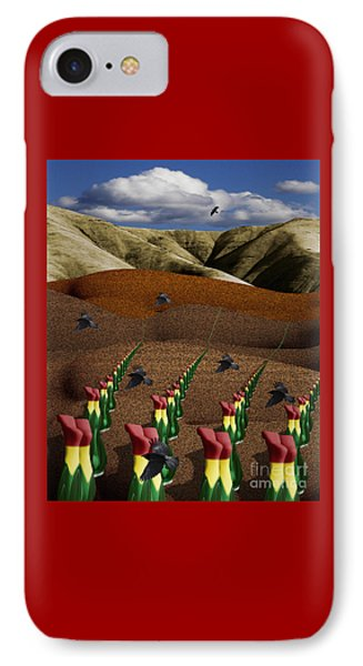 Fertile Ground Phone Case by Keith Dillon