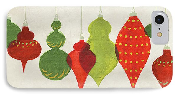 Festive Decorations Ornaments IPhone Case by Danhui Nai