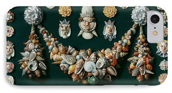 Festoon Masks And Rosettes Made Of Shells IPhone Case