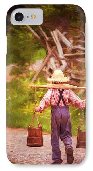 Fetch A Pail Of Water - Artistic IPhone Case