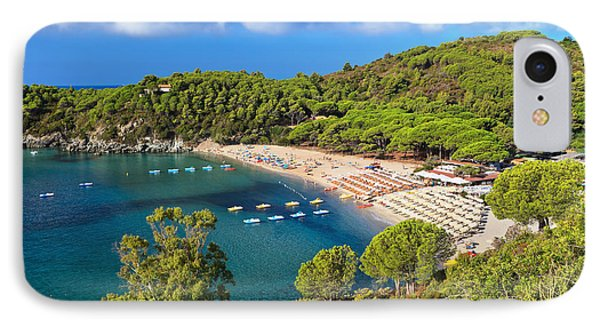 Fetovaia Beach - Elba Island IPhone Case
