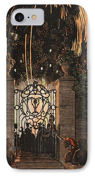 Feu D Artifice Phone Case by Konstantin Andreevic Somov