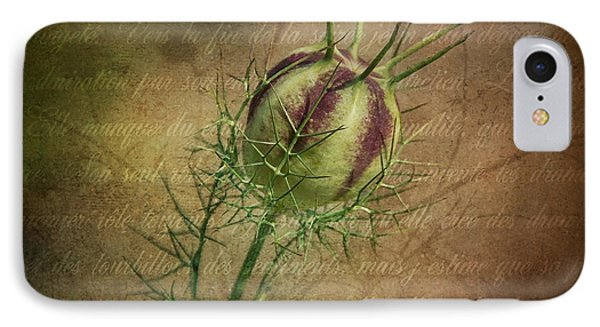 Fey Poppy Magic IPhone Case by Terry Rowe