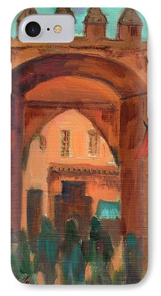 Fez Town Scene IPhone Case by Diane McClary