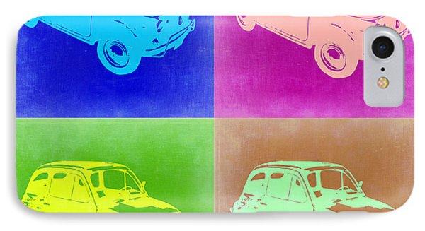 Fiat 500 Pop Art 2 IPhone Case