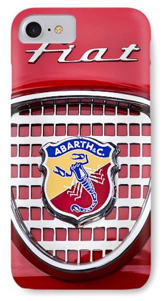 Fiat Emblem 2 Phone Case by Jill Reger