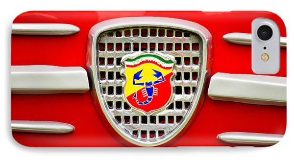 Fiat Emblem Phone Case by Jill Reger