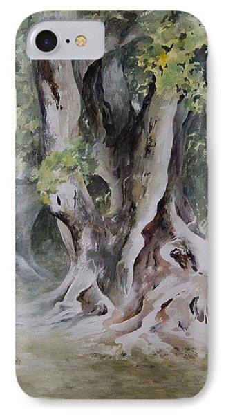 Ficus Aurea Phone Case by Rachel Christine Nowicki