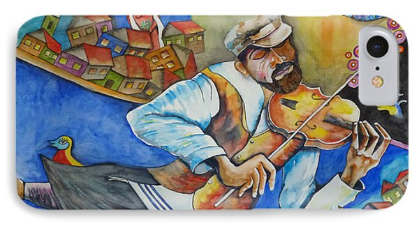 Fiddler On The Roofs IPhone Case by Guri Stark
