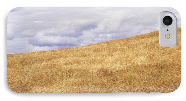 Field And Sky Near Rock Creek, South Phone Case by Bert Klassen
