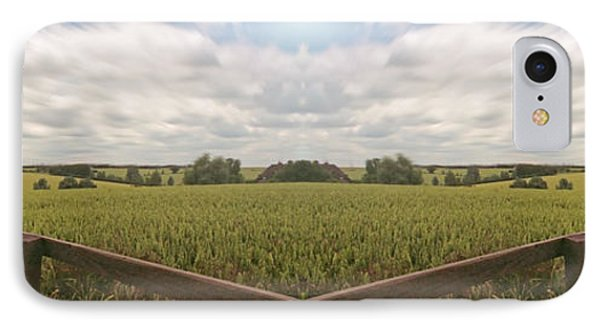 Field And Sky, South England Phone Case by Vast Photography