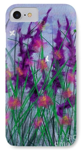 Field Flowers IPhone Case by Judy Via-Wolff