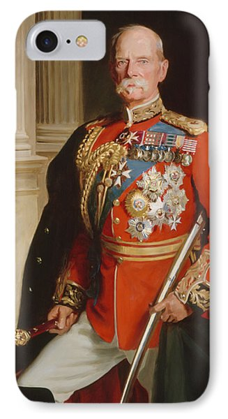 Field Marshal Lord Roberts Of Kandahar Phone Case by Frank Markham Skipworth
