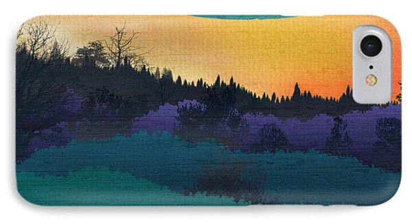 Field Of Colors And Shades Phone Case by Bedros Awak