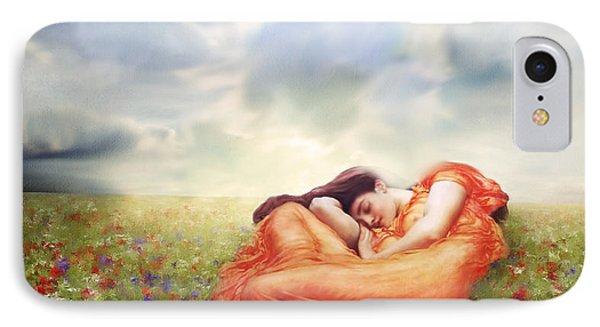 Field Of Desire IPhone Case by Georgiana Romanovna