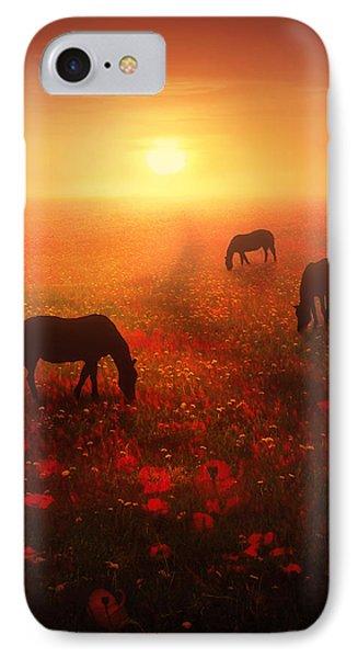 Field Of Dreams IPhone Case by Jennifer Woodward