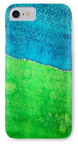 Field Of Dreams Original Painting Phone Case by Sol Luckman