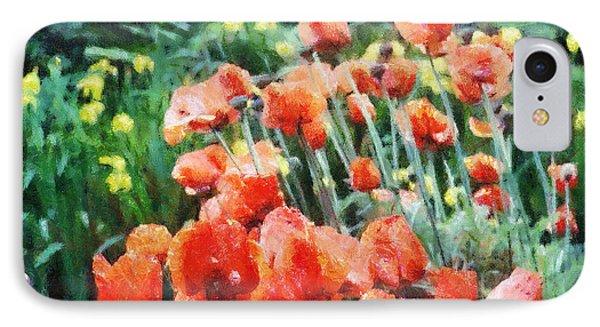 Field Of Flowers IPhone Case by Jeff Kolker