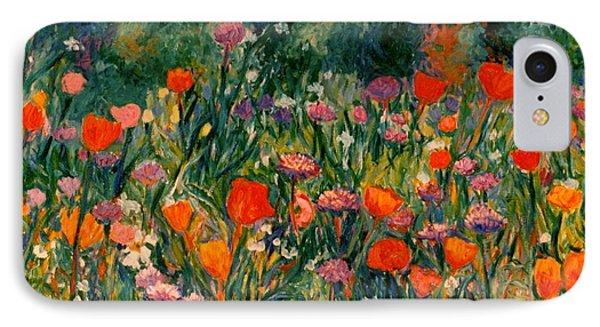 Field Of Flowers Phone Case by Kendall Kessler