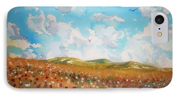 Field Of Flowers IPhone Case by Suzanne McKay