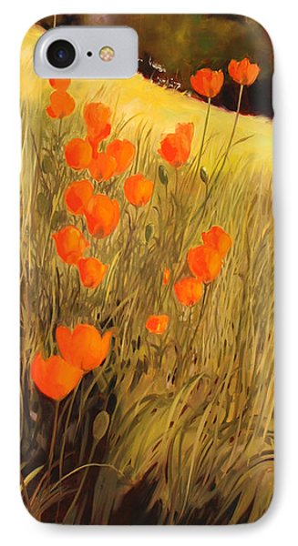 Field Of Poppies Phone Case by Sue  Darius