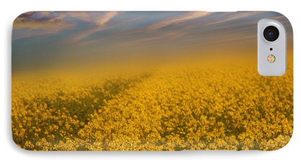 Field Of Rapeseed  Phone Case by Monika Pachecka