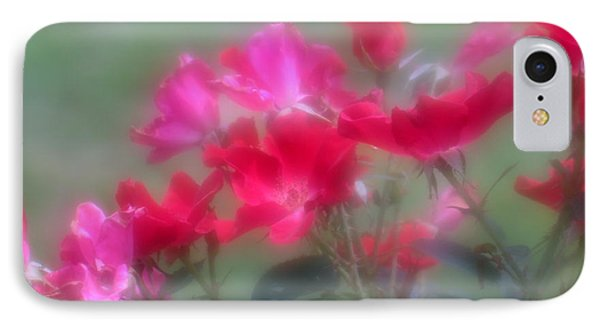 Field Of Roses IPhone Case by Mary Lou Chmura
