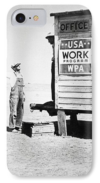 Field Office Of The Wpa Government Agency Phone Case by American Photographer