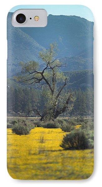 Fields Of Yellow Foxglove IPhone Case