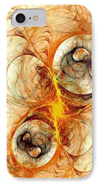 Fiery Birth Phone Case by Anastasiya Malakhova