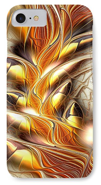 Fiery Claws IPhone Case