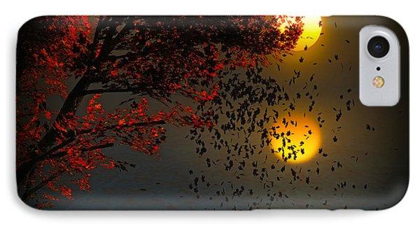 Fiery Fall... IPhone Case