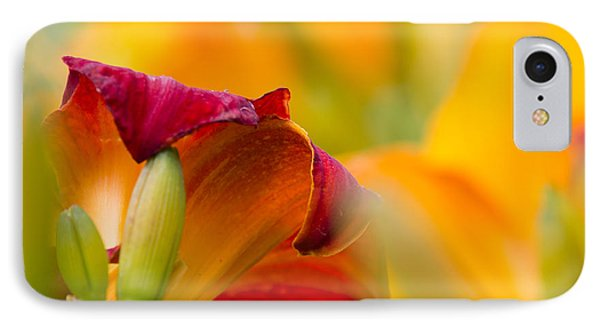 IPhone Case featuring the photograph Fiery Flora by Mary Amerman