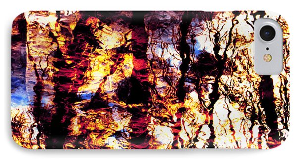 Fiery Reflections Phone Case by Shawna Rowe