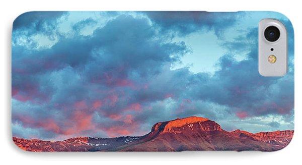 Fiery Sunrise Light Strikes Ear IPhone Case by Chuck Haney
