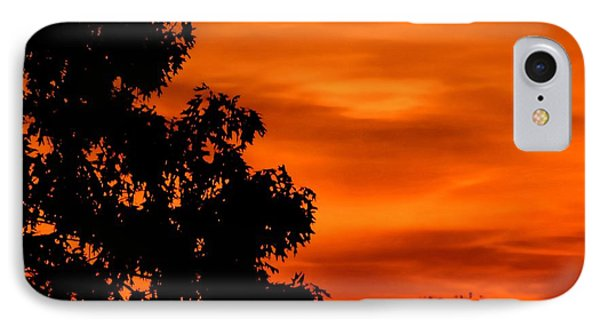 Fiery Sunset IPhone Case