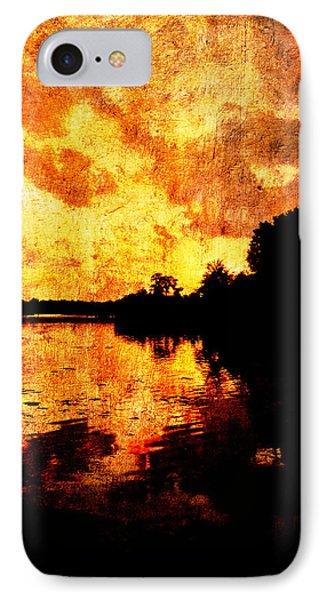 Fiery Sunset Phone Case by Randi Kuhne