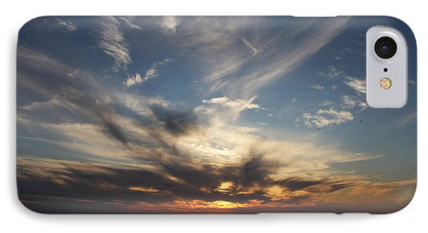 Fiery Sunset Skys IPhone Case by Christiane Schulze Art And Photography